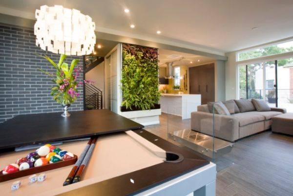 Вертикальная посадка комнатных растений