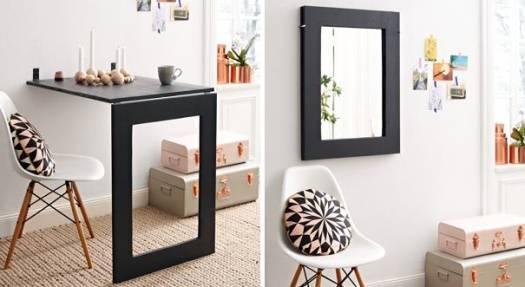 Многофункциональная мебель с зеркалом