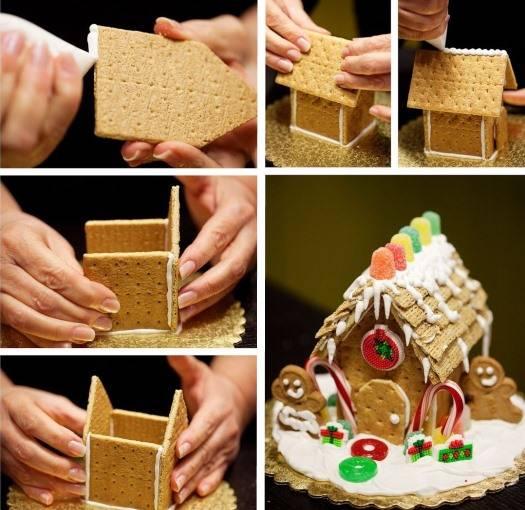 Очаровательный сладкий декор на Новый Год