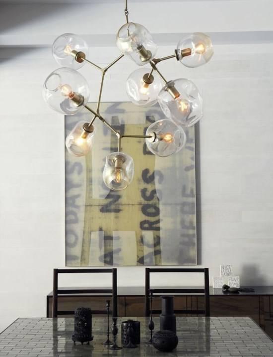 Необычные современные люстры