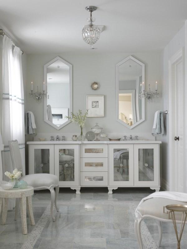 Стильная и роскошная ванная комната