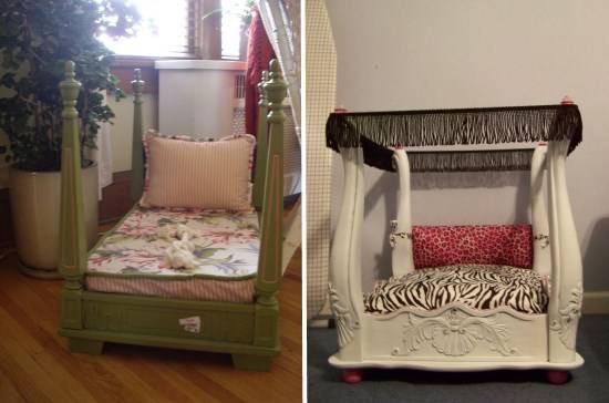Кроватки для животных в квартире
