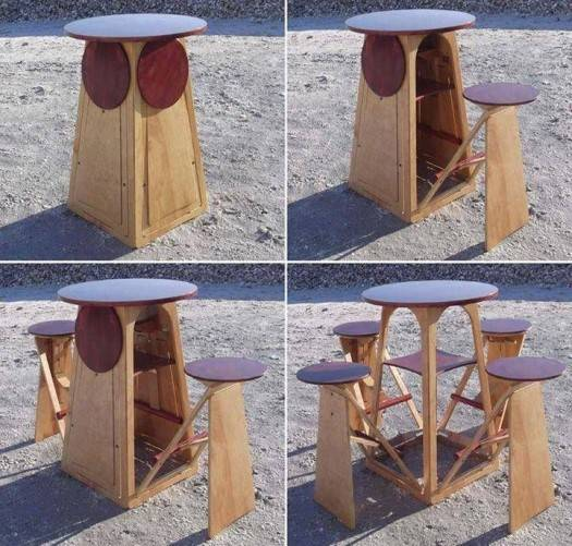 Многофункциональная мебель Micro Bar