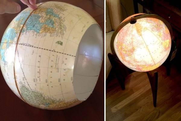 Что можно сделать из глобуса своими руками 32