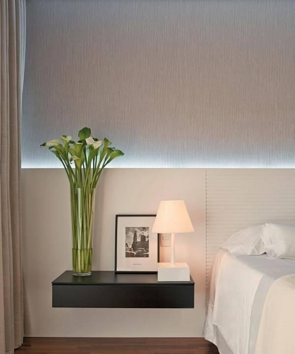 Светодиодная подсветка в спальне