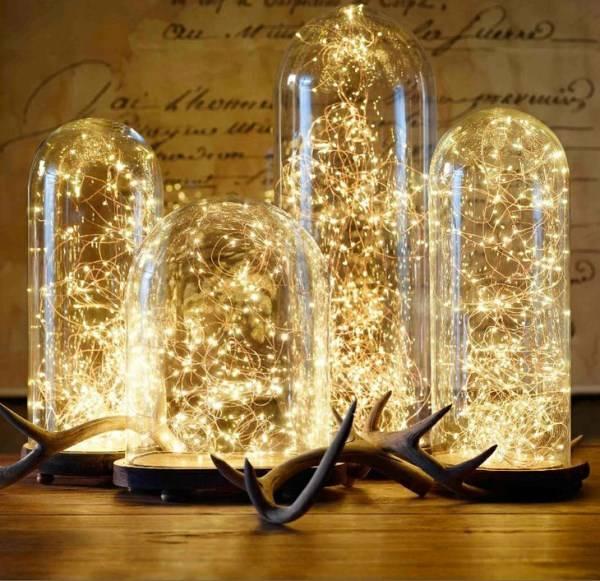 Светодиодные светильники на Новый Год