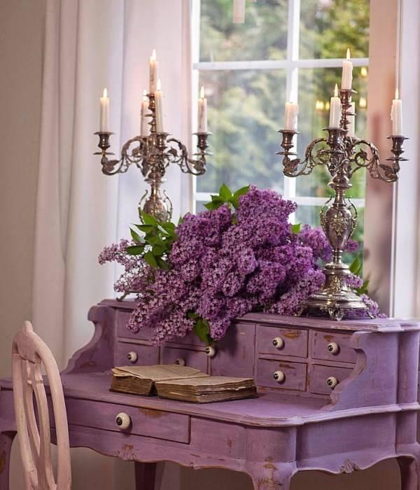 Женский столик в стиле прованс