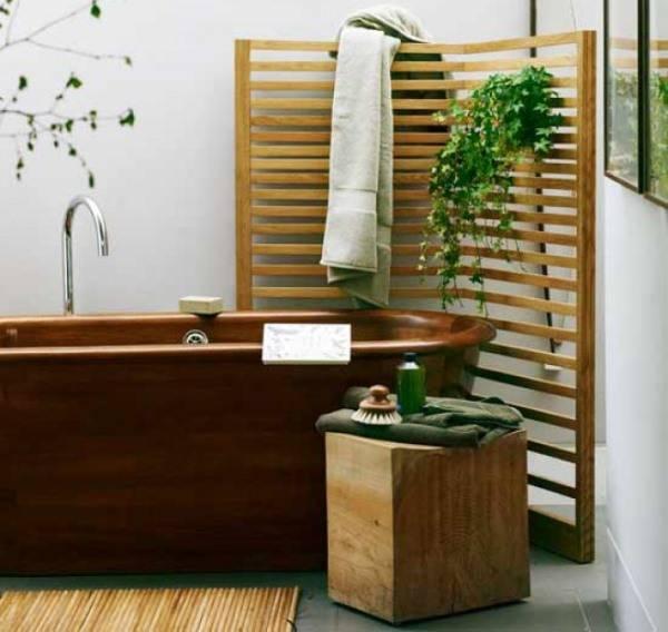 Дизайн ванной комнаты в нейтральных тонах