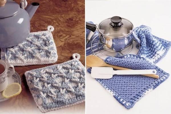 Вязанные поделки для кухни