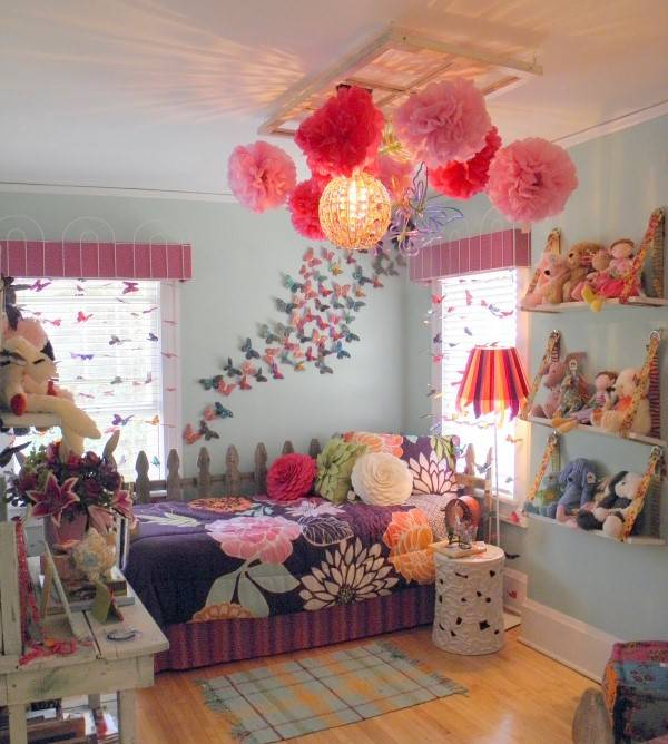 Декор для комнаты девочки