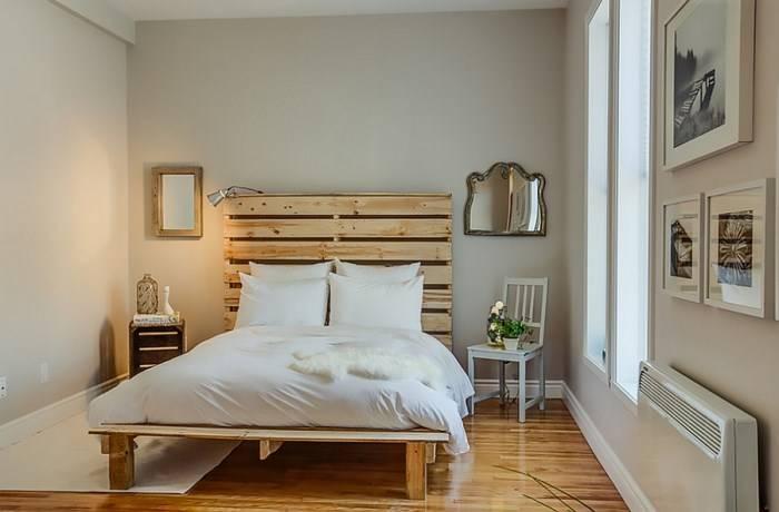 Спальня с эклектичным декором