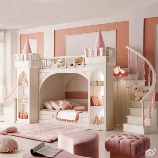 """Мебель для детской комнаты """"Дворец принцессы"""""""