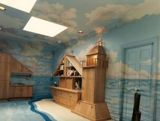 Детская в сказочном морском стиле