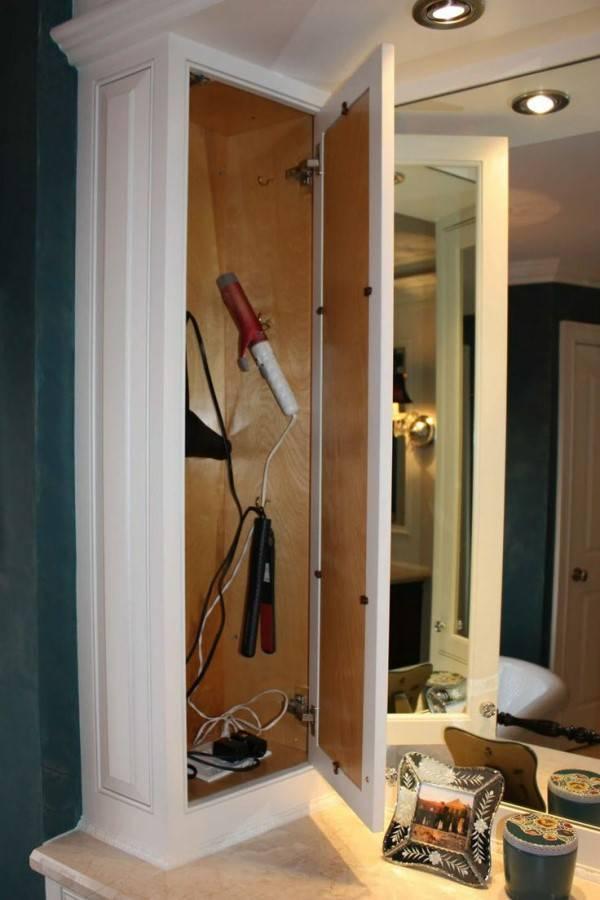 Куда спрятать электрические розетки в ванной