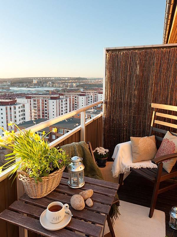 Мебель и декор для балкона: 40 лучших идей из Pinterest