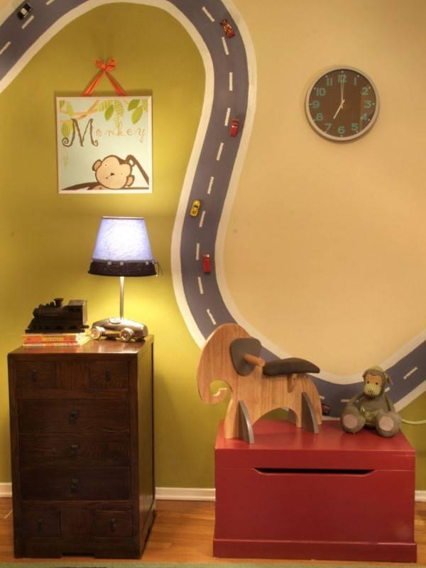 Самодельное украшение для стен в детской