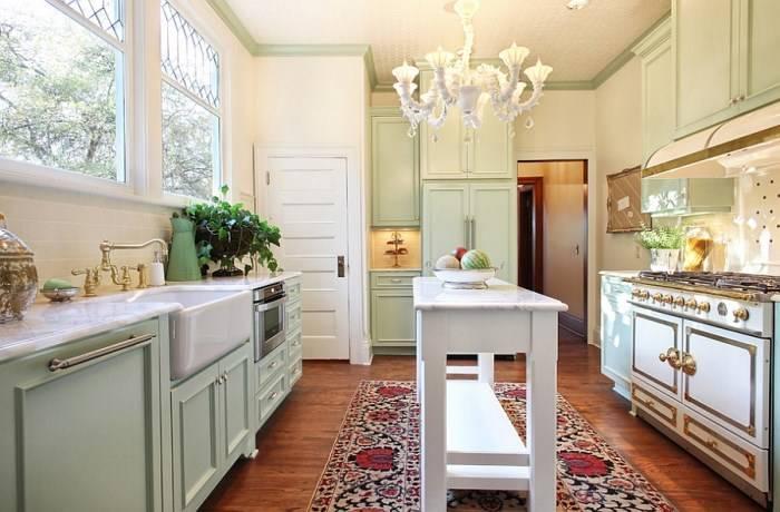 Кухонный остров для небольшой кухни