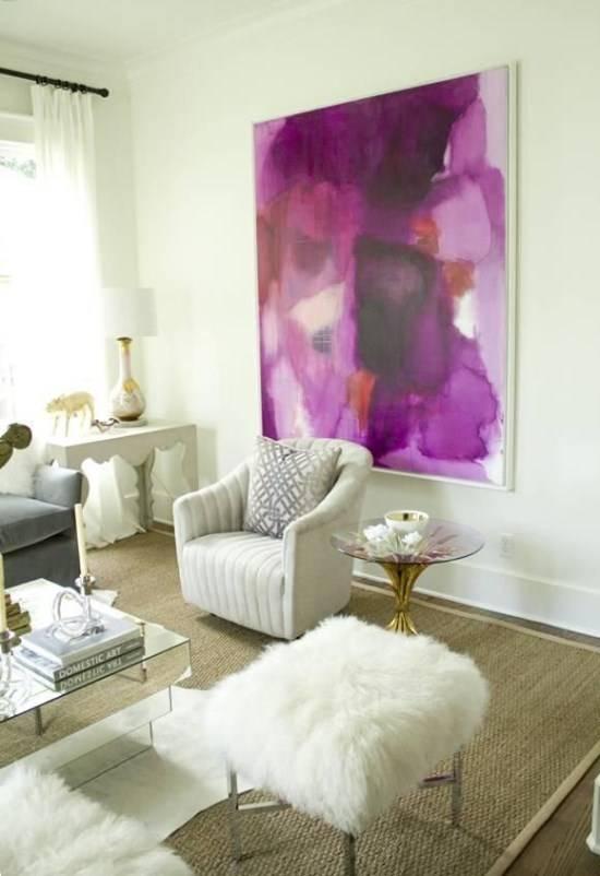 Декор интерьера в гламурном стиле