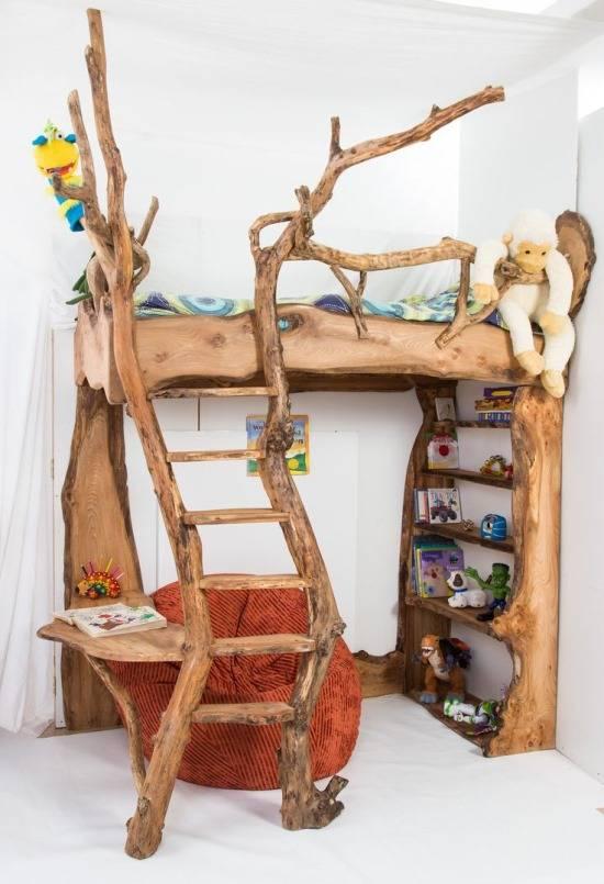 Самодельная детская мебель из дерева