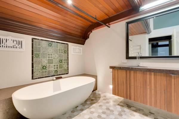 Включение ванны в интерьер