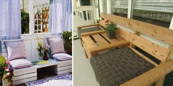 Мебель и декор для балкона: 40 лучших идей из pinterest всег.