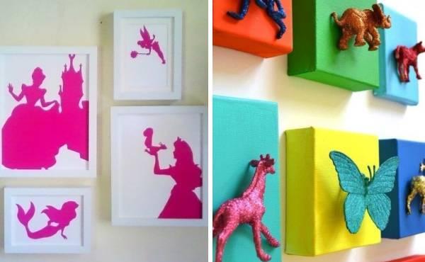 Украшения для стен в детской