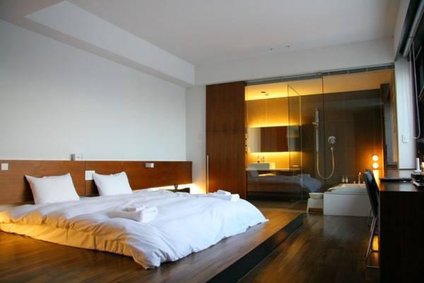 Ванная комната, смежная со спальней