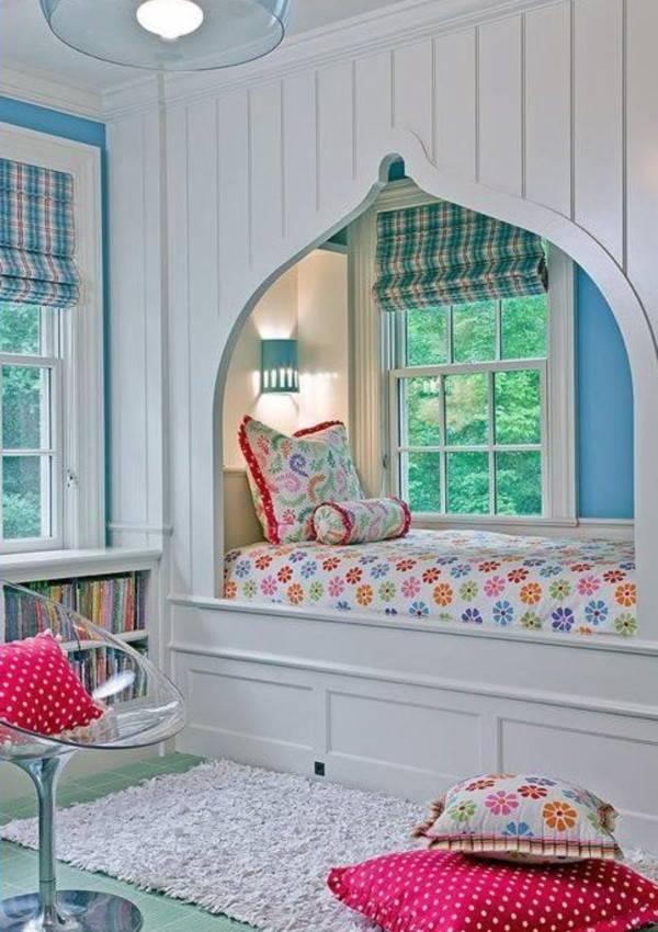 Планировка детской комнаты с перегородками