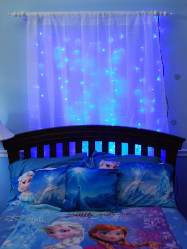 Применение светодиодной подсветки в детской