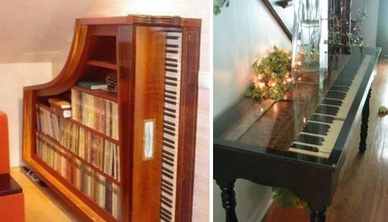 Новое применение для пианино