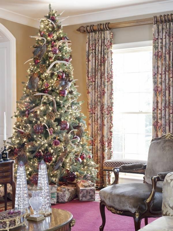 Необычные украшения для елки