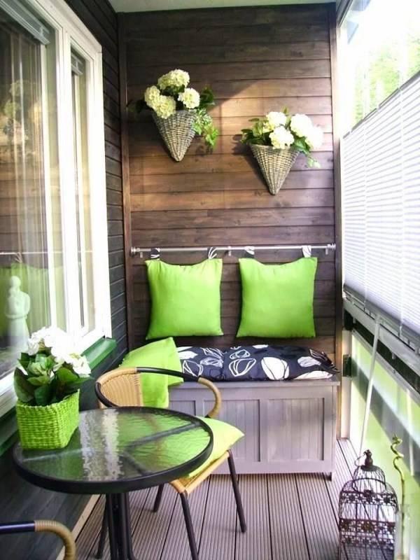 Идеи декора для балкона
