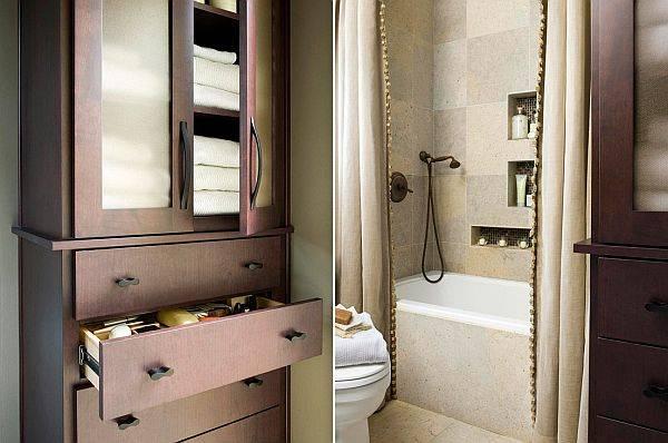 Когда ванная продолжает дизайн других комнат в доме