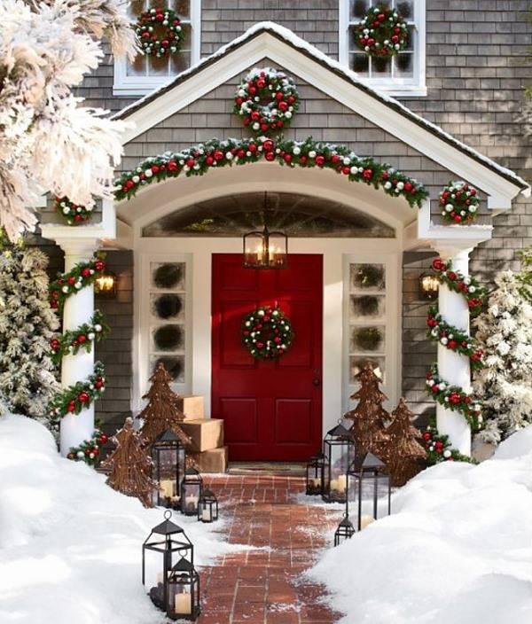 Волшебные новогодние украшения