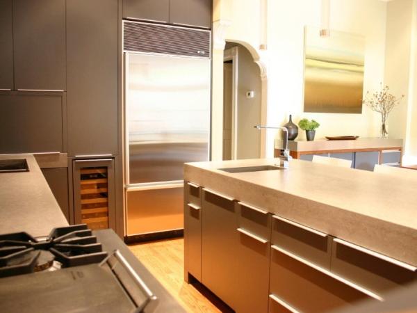 Mutfak tasarımında beton