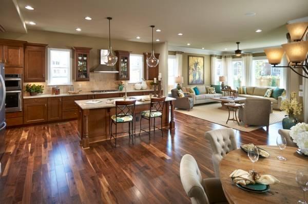 Гостиная и кухня в одном помещении