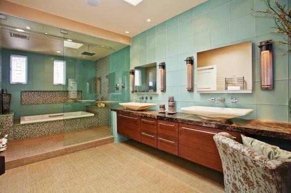 Оформление ванной комнаты в азиатском стиле