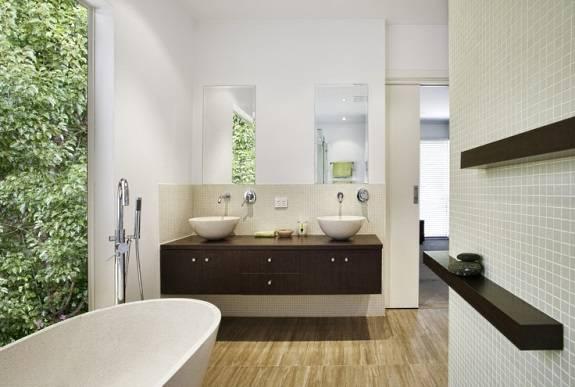 Дизайн ванной комнаты с фен-шуй
