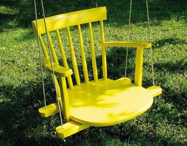 Применение старых стульев в доме