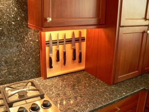 Хранение ножей на кухне