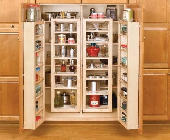 Кухонные полки и органайзеры