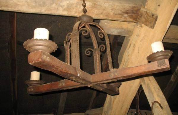 Какими были люстры в Средневековье