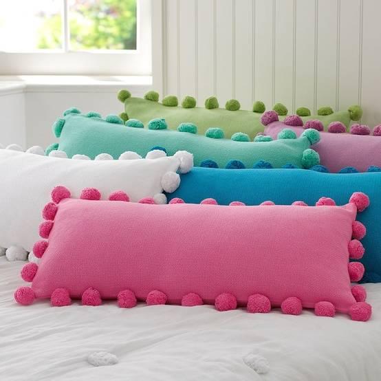 Декоративные подушки для спальни