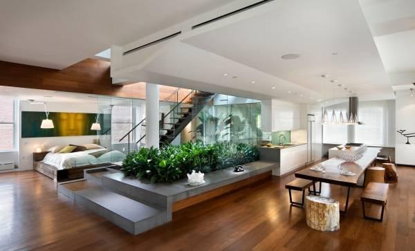 Kapısız modern ev