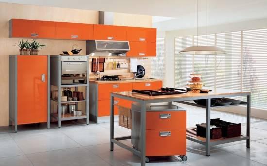 Дизайн кухни без зоны отдыха