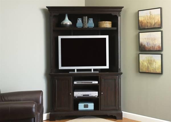 Угловой шкаф с подставкой под телевизор