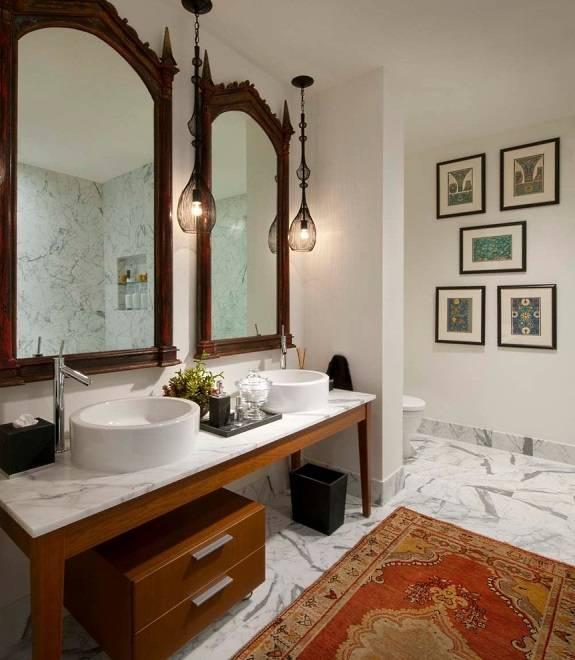 Дизайн ванной в индийском стиле