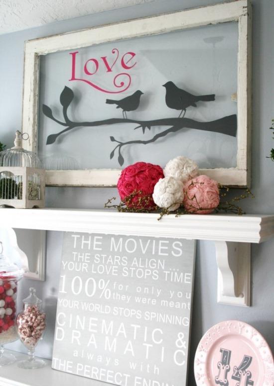Декор для дома ко Дню святого Валентина