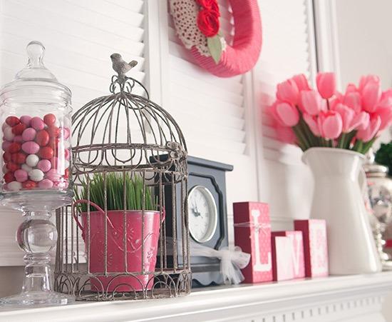 Декорирование дома ко Дню святого Валентина
