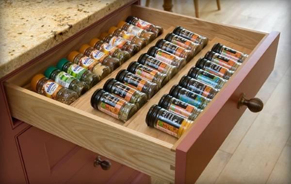Самодельный ящик для специй из дерева